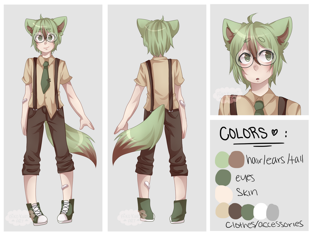 Character Reference Sheet YCH Example by blushingbats ...
