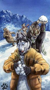 Snow Fun by screwbald