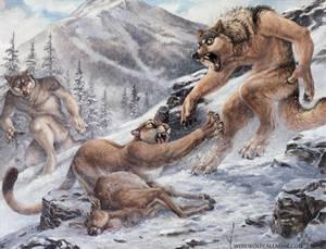 Werewolf Calendar - Poachers by screwbald