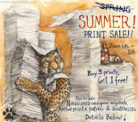 Summer Print Sale by screwbald
