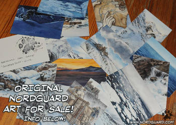 Nordguard Card Game Originals For Sale by screwbald