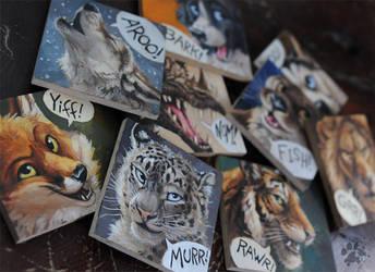 Animal Squares by screwbald