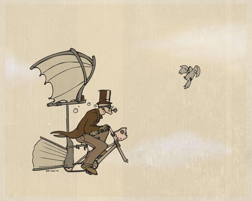 I've got a flying machine by DukeOGlue