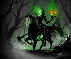 headless horseman by DoomGuy26