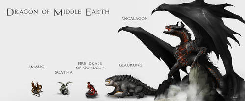 Dragon of Middle Earth by DoomGuy26