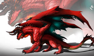 Fire Dragon by DoomGuy26