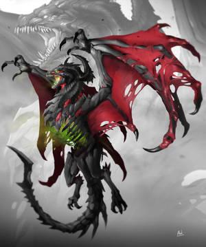 Plague Dragon by DoomGuy26