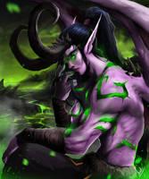 Illidan Stormrage by DoomGuy26