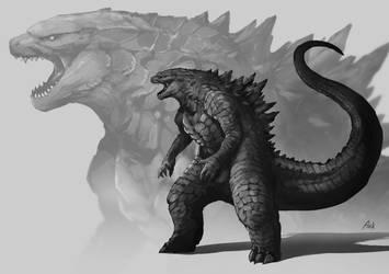Godzilla by DoomGuy26