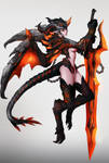Dragon Valkyrie by DoomGuy26