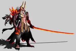 Inferno Samurai by DoomGuy26
