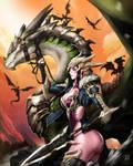 Dragon rider by DoomGuy26