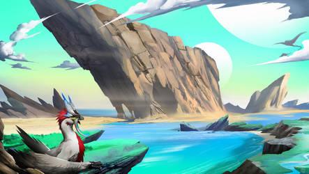The coast by DoomGuy26