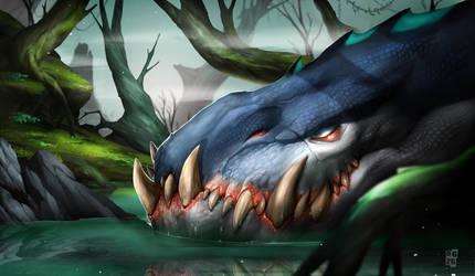 Sleeping Dragon by DoomGuy26