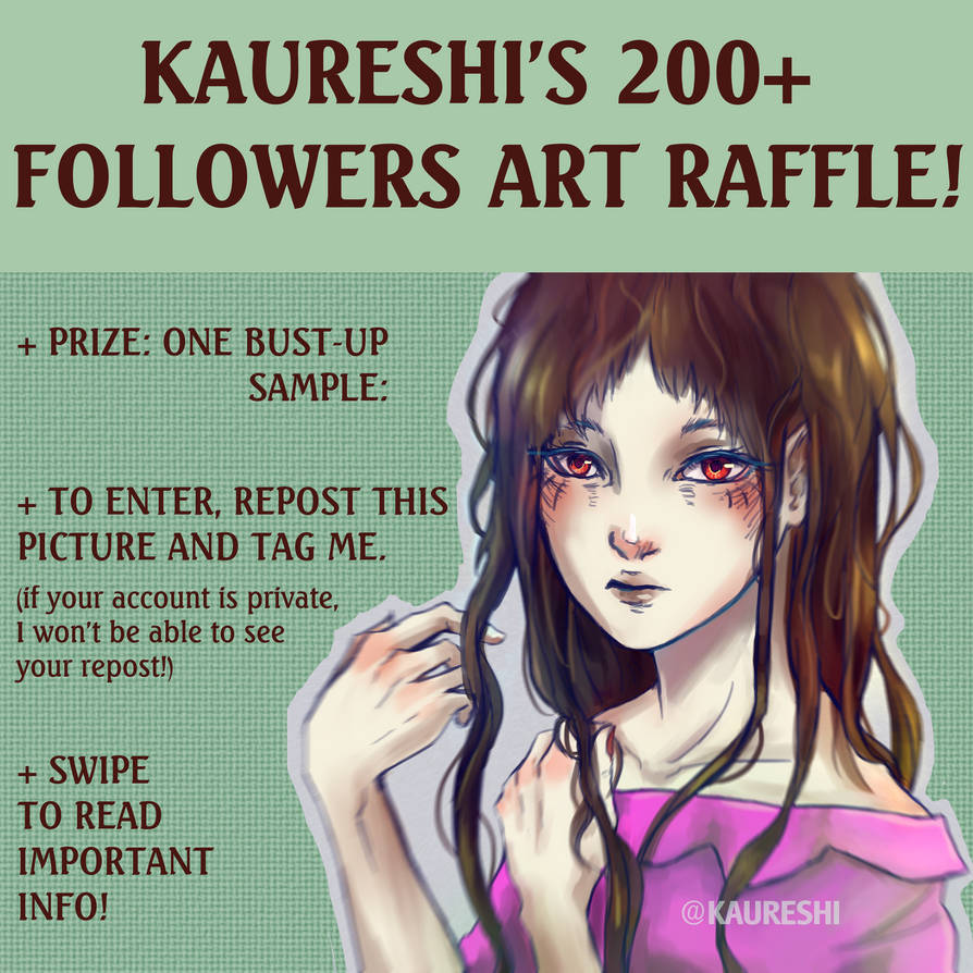 Art Raffle by Kaureshi