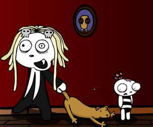 Lenore found a new pet by CaccoXL