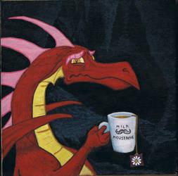 Sad Dragon by CaccoXL