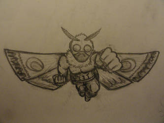 The Amazing Mothman by CaccoXL