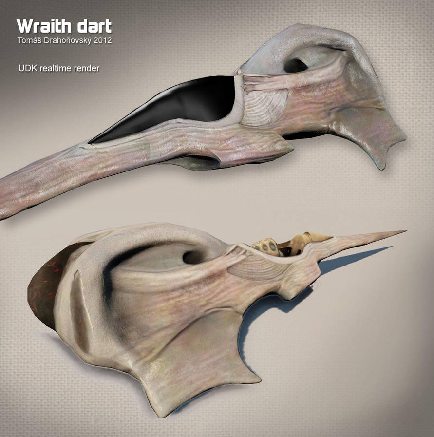Wraith dart UDK by t17dr