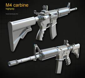 M4 carbine by t17dr