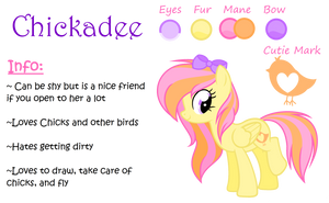 Chickadee Reference Sheet 2.0 {Read Desc Plz} by Marzipan-Madness