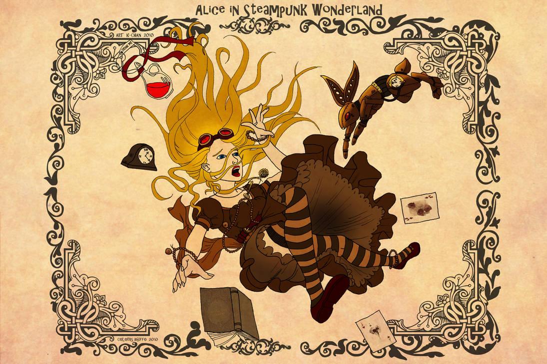 Alice in Steampunk Wonderland by bgiffo