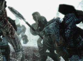 Skyrim: Savages by Magnus-Strindboem