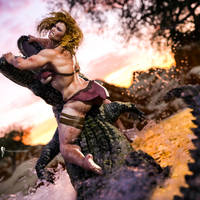 Thormanofthunders' Kylah (Collaboration) by Magnus-Strindboem