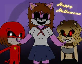 The Creepiest Halloween! by SalvadortheEchidna