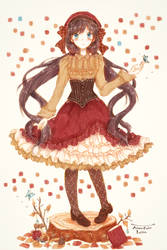 Autumn Color Lolita by tmtm-dot