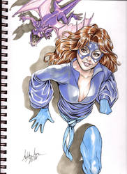 Kitty Pryde aka Shadowcat by WittA