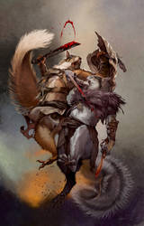 Squarriors: Summer #1 Variant by WittA