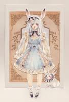 Paper Doll by Loputyn