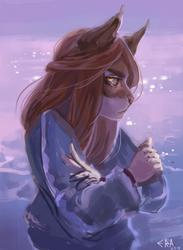 My character sketch by EronGonDon