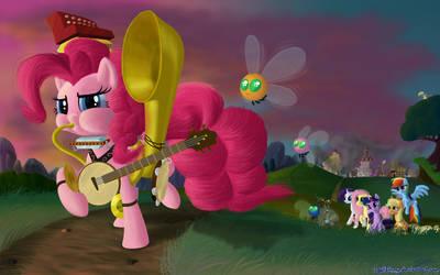 Pinkie's Heroic Vanquishing Polka Parade by DeathPwny