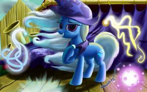 Windy Mane Trixie by DeathPwny
