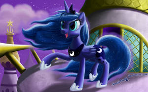 Windy Maned Luna by DeathPwny