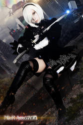 2B - Nier by Mad-Hatter----X
