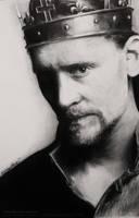 BALLPOINT Tom Hiddleston Drawing Hollow Crown by Bubblegum-Jellybean
