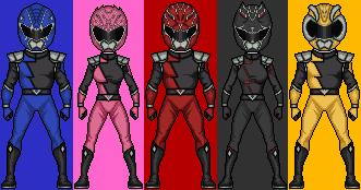 Power Rangers Hyper Force by HenshinDaisuke