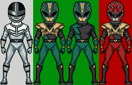 Power Rangers Hyper Force Part2 by HenshinDaisuke