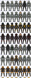 Power Armour Templates by HenshinDaisuke