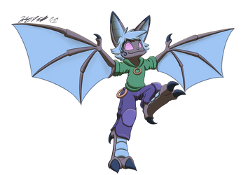 Let Her Fly by FalloutFoxDraws