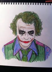 The Joker by skeletonjackpumpkin