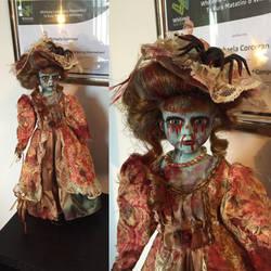 Creepy Doll Repaint by skeletonjackpumpkin