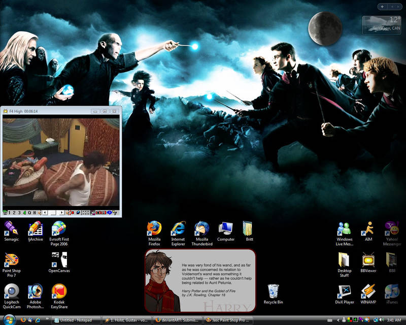 Desktop - September 2007 by acciosnitch