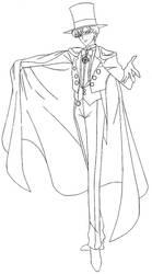 #SMC - Tuxedo Mask (3) by MissLily1990