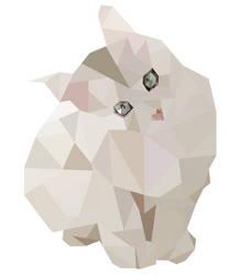Cat Geo Art by emynemzz