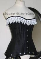Edwardian corset by BlackvelvetSITC