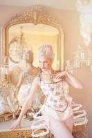 Marie Antoinette Boudoir by BlackvelvetSITC